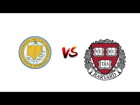 Review University OF CALIFORNIA, SANTA BARBARA vs. HARVARD University