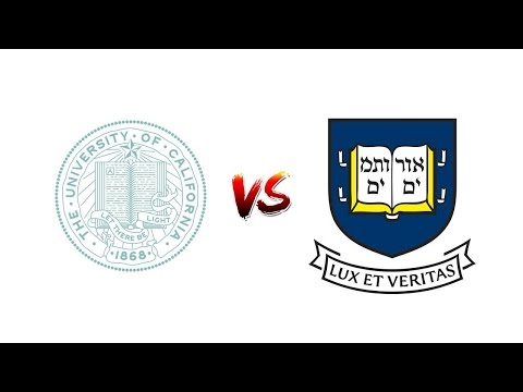 Look at College OF CALIFORNIA, SAN FRANCISCO vs. YALE College