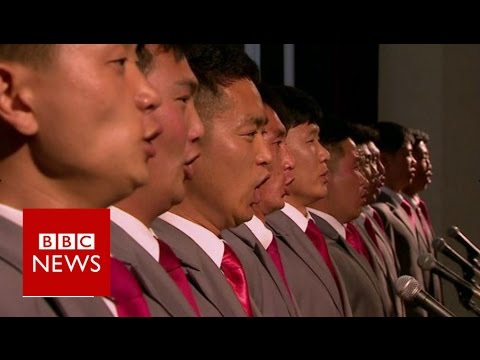A scarce seem inside of North Korea's Kim Il Sung College – BBC News