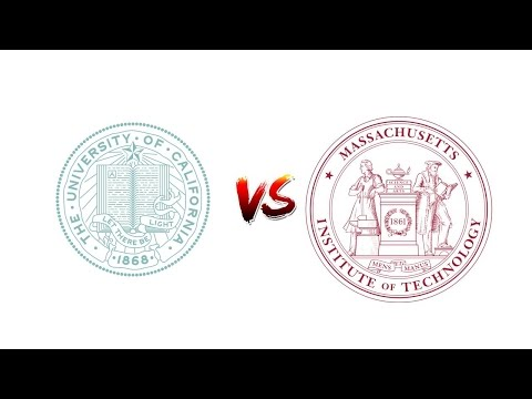 Look at UCALIFORNIA, SAN FRANCISCO vs. MIT
