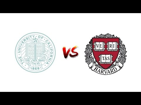 Compare UCALIFORNIA, SAN FRANCISCO vs. HARVARD University