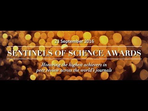 Major researchers honour 2016 Sentinels of Science recipients