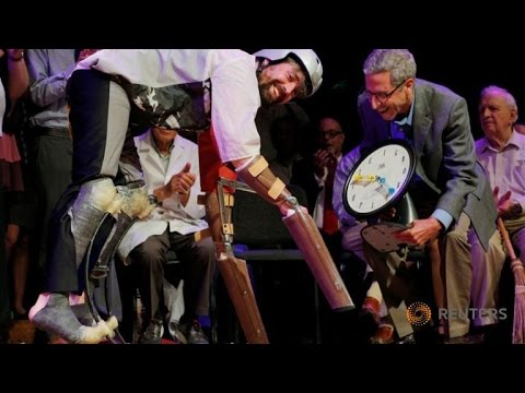 Thomas Thwaites (Goat Person) – British male wins Ig Nobel award for living as a GOAT in the Alps