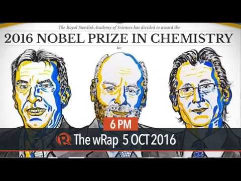 Trio awarded 2016 Nobel Prize in Chemistry for function on molecular machines
