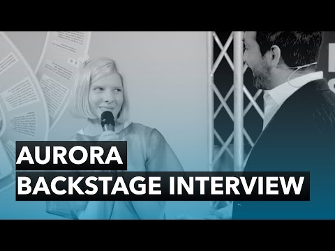 AURORA – Backstage Interview – The 2015 Nobel Peace Prize Live performance