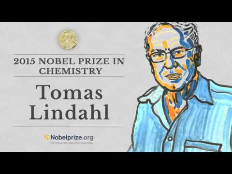 Portrait of a Nobel Laureate: Tomas Lindahl, 2015 Nobel Prize in Chemistry