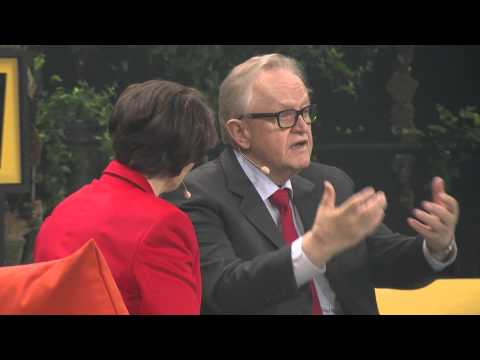 Nobel Peace Prize laureate Martti Ahtisaari | Hearth Chat at Slush 2015