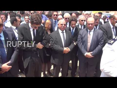 Egypt: Funeral for Nobel Prize winner Ahmed Zewail held in Cairo