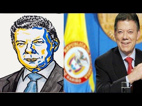 Colombian Prez Juan Manuel Santos wins 2016 Nobel Peace Prize