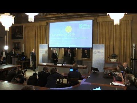 Agreement concept earns pair Nobel Economics Prize