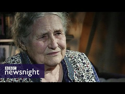 Doris Lessing wins Nobel Prize for Literature (2007) – Newsnight archives