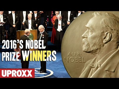 The 2016 Nobel Prize WINNERS!