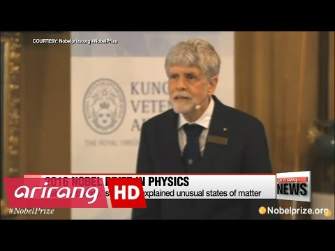 Nobel prize in physics 2016 awarded for investigation on exotic matter