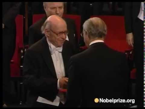 Irwin Rose receives his Nobel Prize