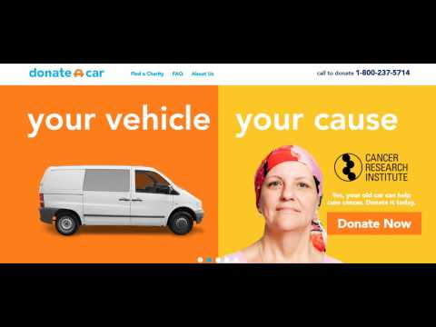 Vehicle Donation for Cancer Study Institute