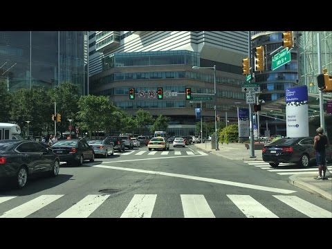 Driving Downtown – Ivy League University – Philadelphia United states of america