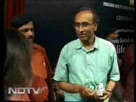 Nobel laureate scientist will get a rockstar's welcome@ IISc,Bangalore.