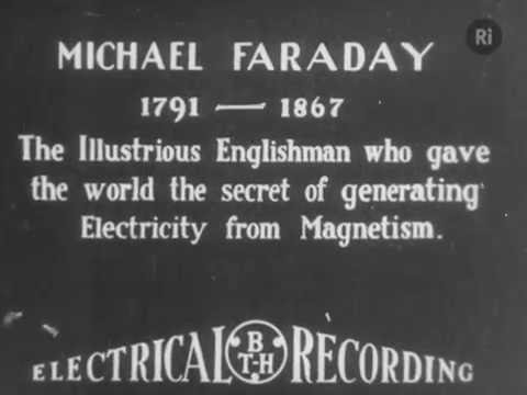 1931 Michael Faraday Celebration with William Henry Bragg