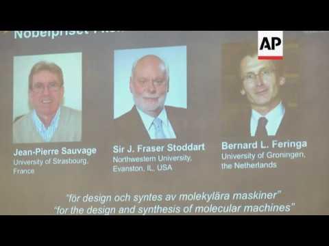 Nobel Prize winner comments on award