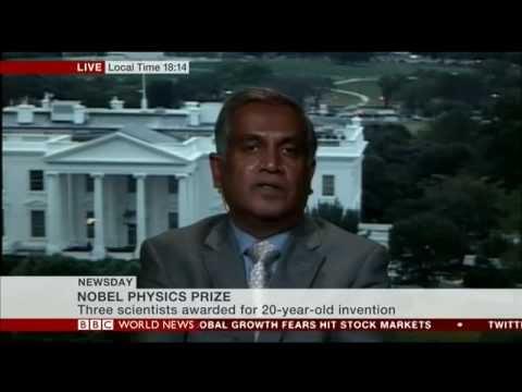 Narendran Remarks on Nobel Prize for Blue LEDs: BBC Planet Information, 2014 ten 07