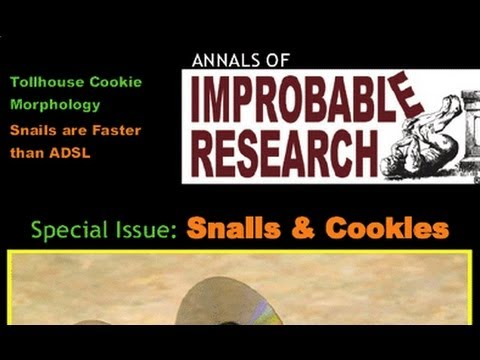 Marc Abrahams – Ig Nobel Prizes, Swansea Science Cafe