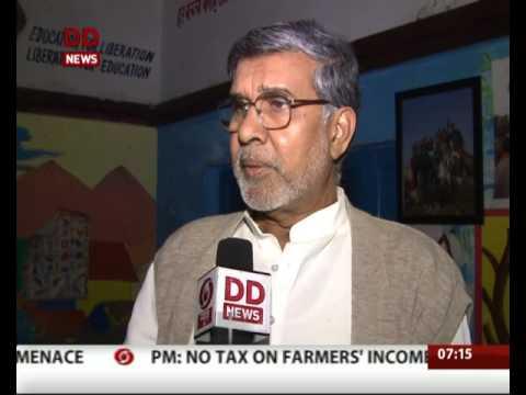 Nobel prize winner kailash satyarthi praises Govt. for forex demonetisation