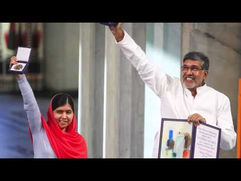 Malala Yousafzai and Kailash Satyarthi – Nobel Peace Prize 2014 – By Zara Zaher, SBS News
