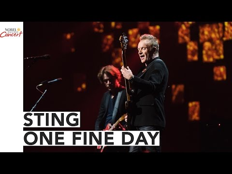STING – Just one Wonderful Working day – The 2016 Nobel Peace Prize Live performance