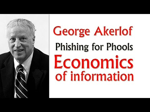 The united states – Nobel prize – Economics – George Akerlof – Phishing for Phools – Environment Financial system Documentary