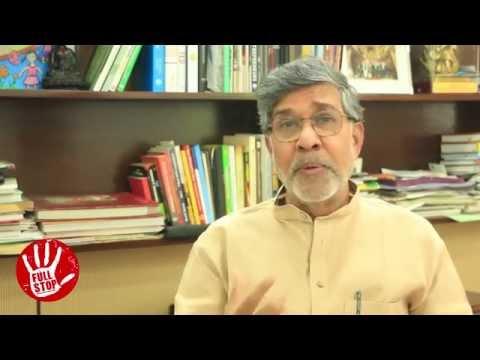 Nobel Laureate Kailash Satyarthi on ending #childsexualabuse