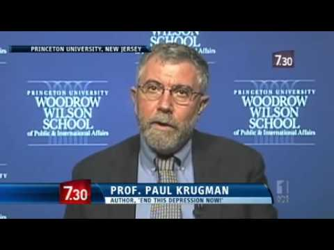 Nobel Prize profitable Paul Krugman delivers economic feelings