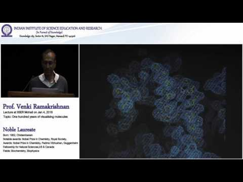 Nobel Laureate Prof. Venki Ramakrishnan Lecture – Element two