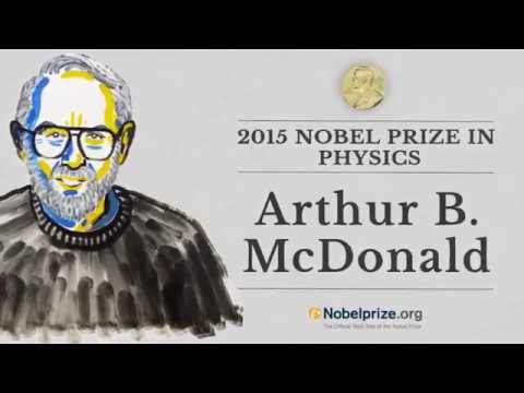 Professor Arthur B. McDonald Co-receiver, 2015 Nobel Prize in Physics