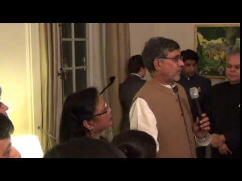 Reception to Felicitate Indian Peace Nobel Laureate, Mr. Kailash Satyarthi 12th December, 2014