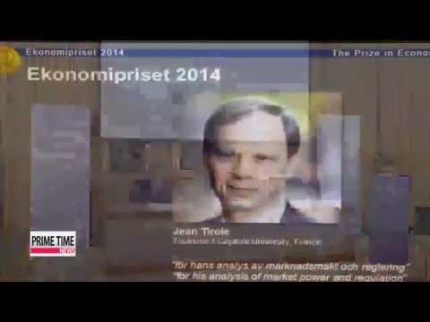 Frenchman Tirole wins Nobel Prize for Economics   2014 노벨경제학상 프랑스 장 티롤 교수