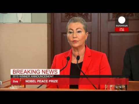 Are living: Nobel Peace Prize awarded to Countrywide Dialogue Quartet in Tunisia