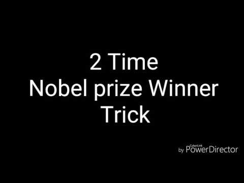 Gk trick- Two times Nobel Prize winner hindi ( two bar nobel puruskar vijeta)