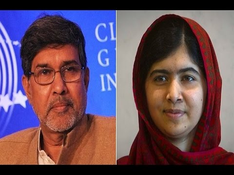 Malala Yousafzai and Kailash Satyarthi Gain Nobel Peace Prize