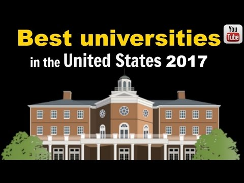 Ideal universities in the United States 2017 United states Rank